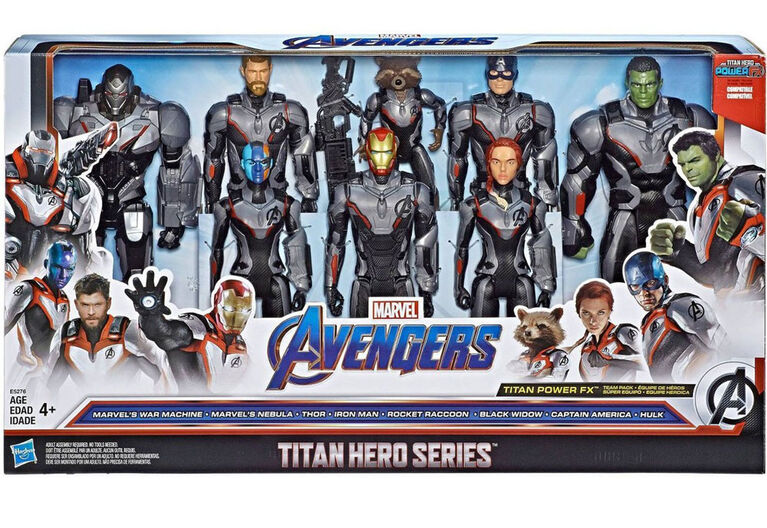 Marvel Avengers Endgame: Titan Hero Series 8 Pack - R Exclusif - 073854