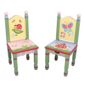 Fantasy Fields - Ensemble de 2 chaises Magic Garden