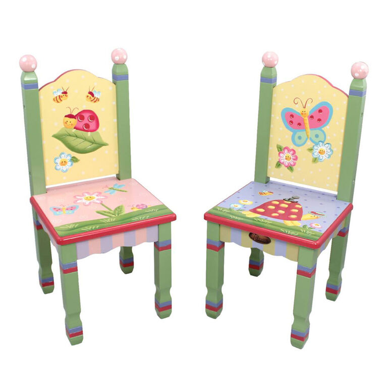 Fantasy Fields - Ensemble de 2 chaises Magic Garden