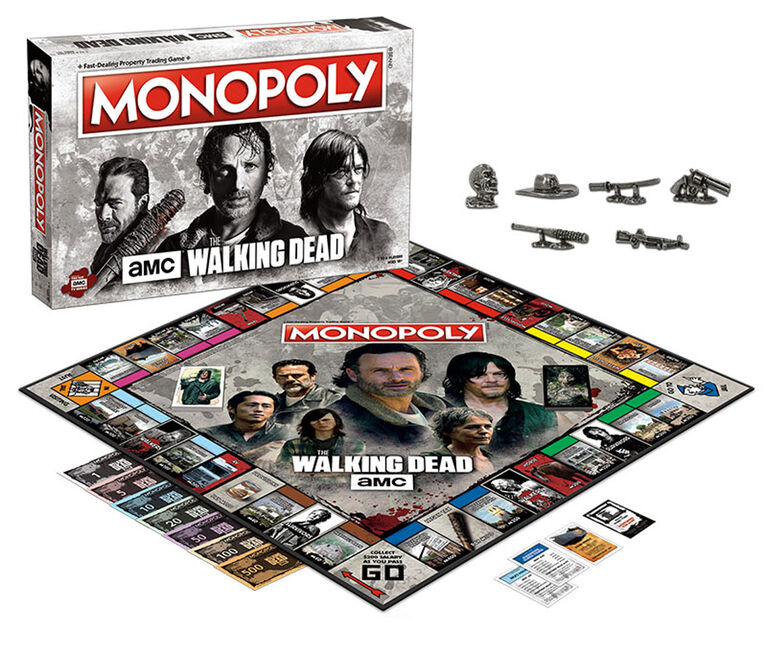 Monopoly Game: AMC The Walking Dead
