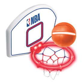 NBA - Over-The-Door Light Up Toy Basketball Set - R Exclusive