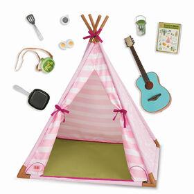 Mini Suite Tent, Our Generation, Tente miniature pour poupées de 18po