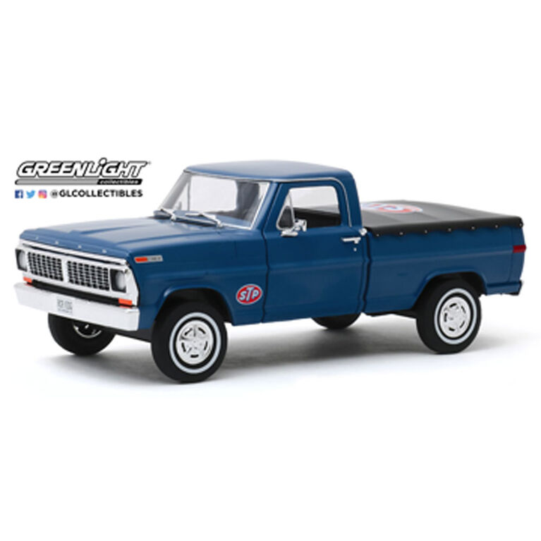 1:24 Running on Empty - 1970 Ford F-100 with Bed Cover - STP - Édition anglaise
