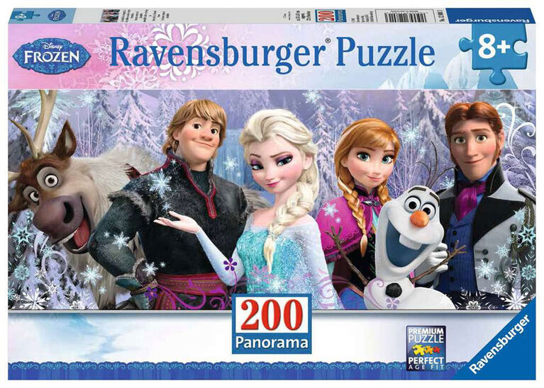 Ravensburger - Arendelle sus les neiges éternelles casse-têtes 200pc