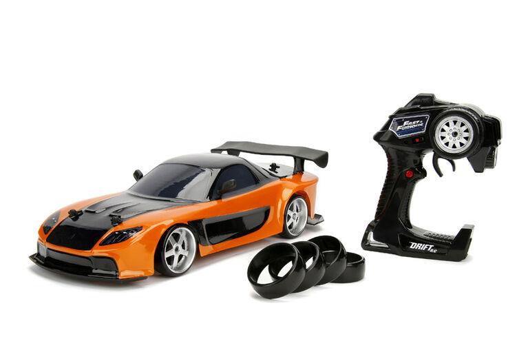 Fast & Furious 1:10 Drift Rc 1993 Mazda Rx-7