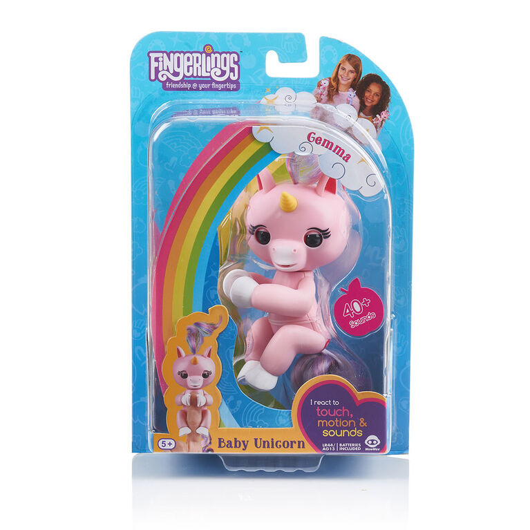 Fingerlings: Licorne Gemma.