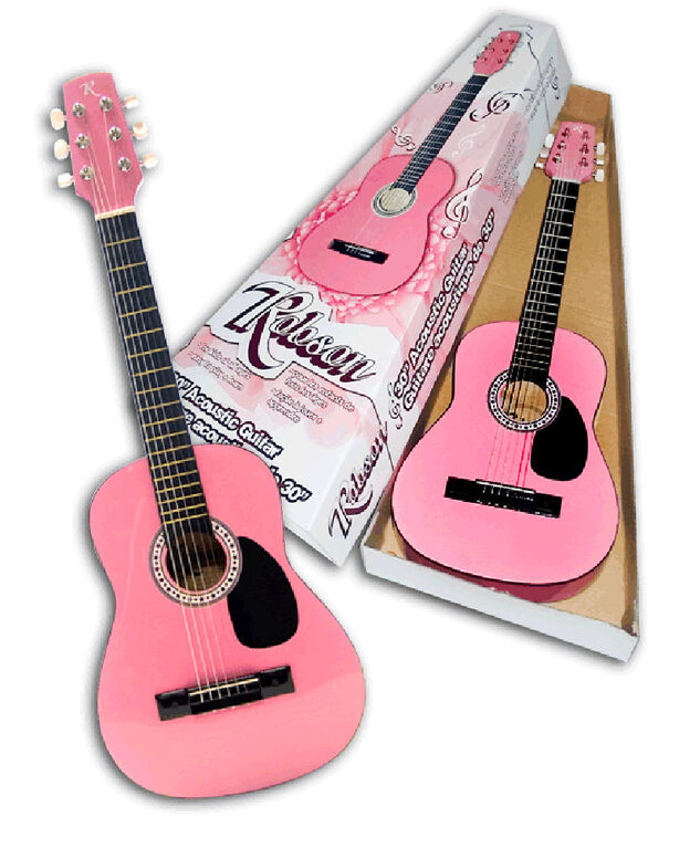 "Robson guitare acoustique 30"" - rose - R Exclusif"