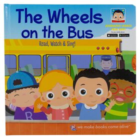 My First Video Book Wheels on the Bus Augmented Reality Story Book.