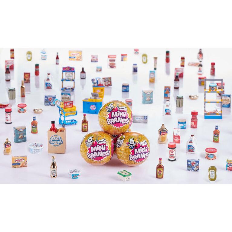 Capsule mystère Mini Brands 5 Surprise Jouet miniature de marques réelles