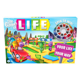 The Game of Life Game, Family Board Game for 2-4 Players, Indoor Game (English)