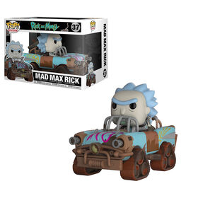 Funko POP Ride! Animations: Rick and Morty -Mad Max Rick Vinyl Figure