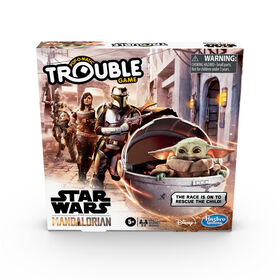 Trouble: Star Wars The Mandalorian Edition Board Game - English Edition - styles may vary