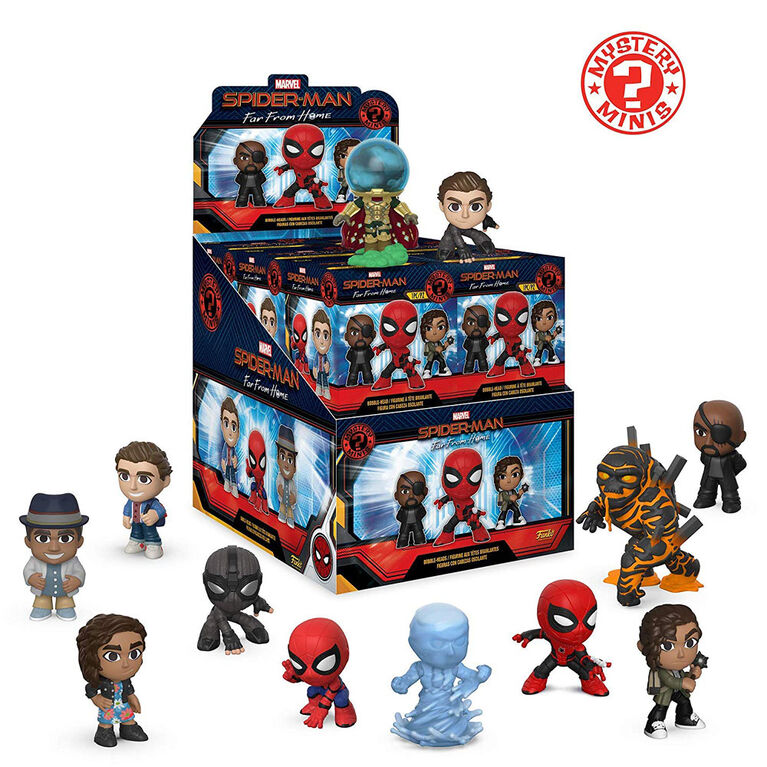 Funko Spider-Man Far From Home Mystery Minis - One Random Mystery Character