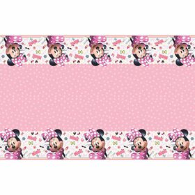 """Minnie  table cover, 54""""x84"""""""