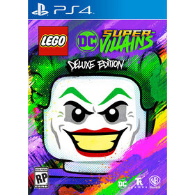 PlayStation 4 - LEGO DC Super-Villains Deluxe Edition