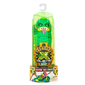 Treasure X : Aliens, emballage simple - Les couleurs et les motifs peuvent varier.