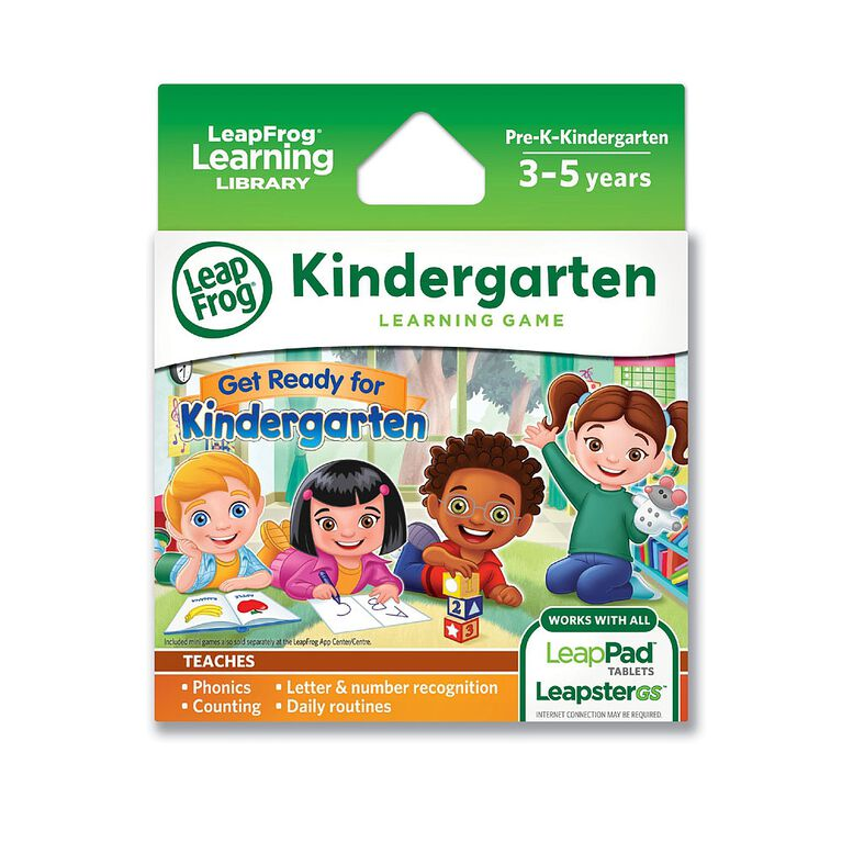 LeapFrog - Get Ready for Kindergarten Learning Game Pack - English version