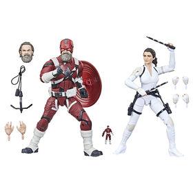PRE-ORDER, SHIPS JuL 2, 2021 - Hasbro Marvel Legends Series Red Guardian & Melina Vostkoff 2-Pack