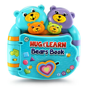 Hug & Learn Bears Book™ - English Edition