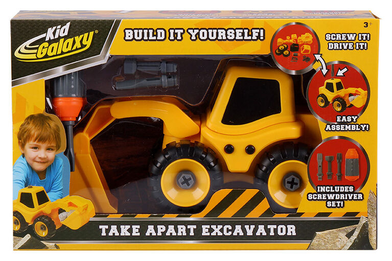 Take Apart Excavator