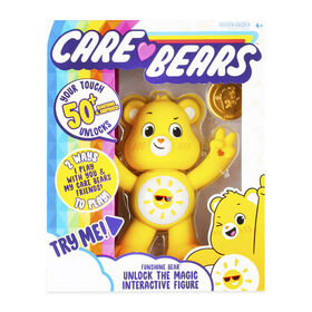 Care Bears Unlock the Magic Interactive Figures - Funshine Bear- English Edition