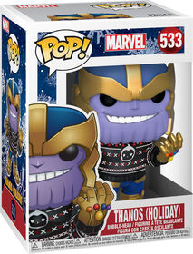 Funko POP! Movies: Marvel - Holiday Thanos in Ugly Sweater