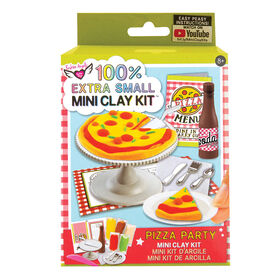 Fashion Angels - 100% Extra Small Pizza Pie Mini Clay Kit