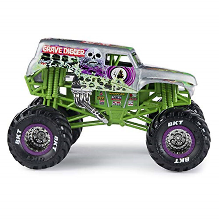 Monster Jam, Official Grave Digger Monster Truck, 1:24 Scale