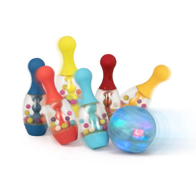 Let's Glow Bowling!, B. Toys Jeu de quilles pour enfants