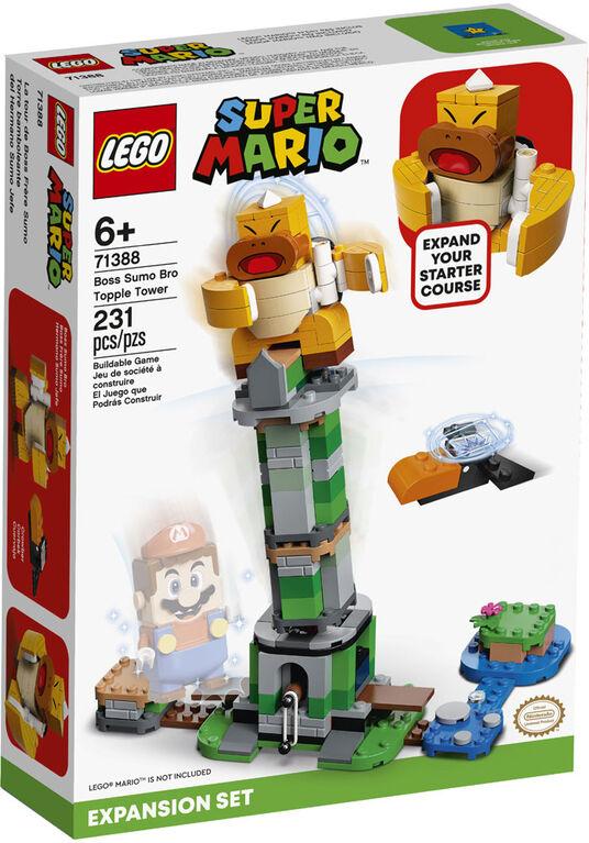 LEGO Super Mario Ensemble d'extension La tour de Boss Frère Sumo 71388