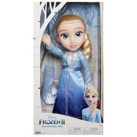 Frozen II Elsa Travel Doll