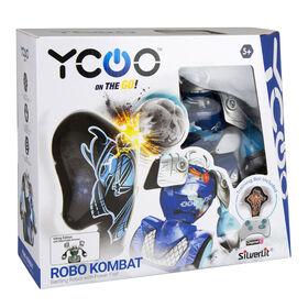 Robo Kombat Viking Robot: Blue