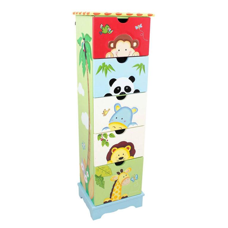 Fantasy Fields - Sunny Safari 5 Drawer Cabinet
