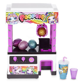 Poopsie Claw Machine with 4 Slimes and 2 Cutie Tooties