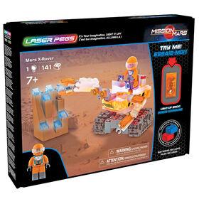 Véhicule aventurier martien (véhicule d'excavation) Laser Pegs