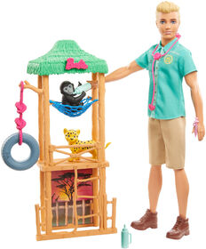 Barbie - Ken Wildlife Vet Doll