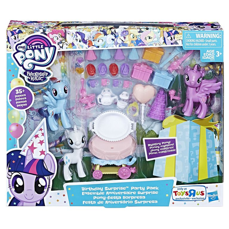 My Little Pony Birthday Surprise Party Pack - R Exclusive - R Exclusive
