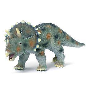 Animal Planet - Tricératops en mousse 45 cm - Notre exclusivité