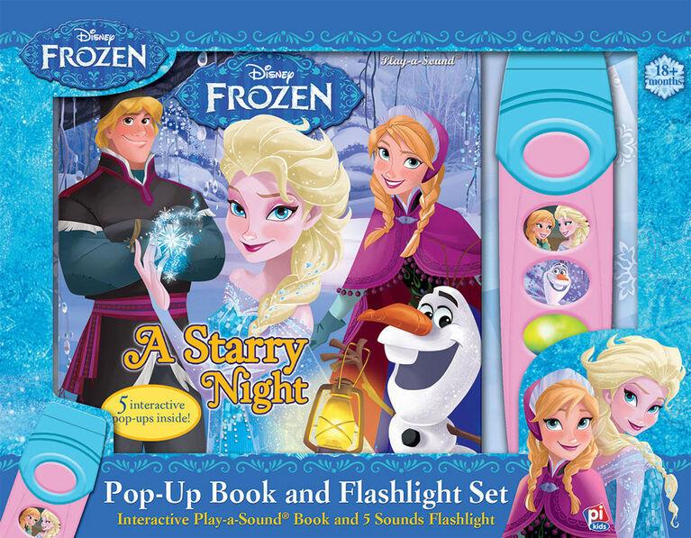 La Reine des NeigesII: Livre Animé avec Lampe de Poche Sonore - Édition anglaise