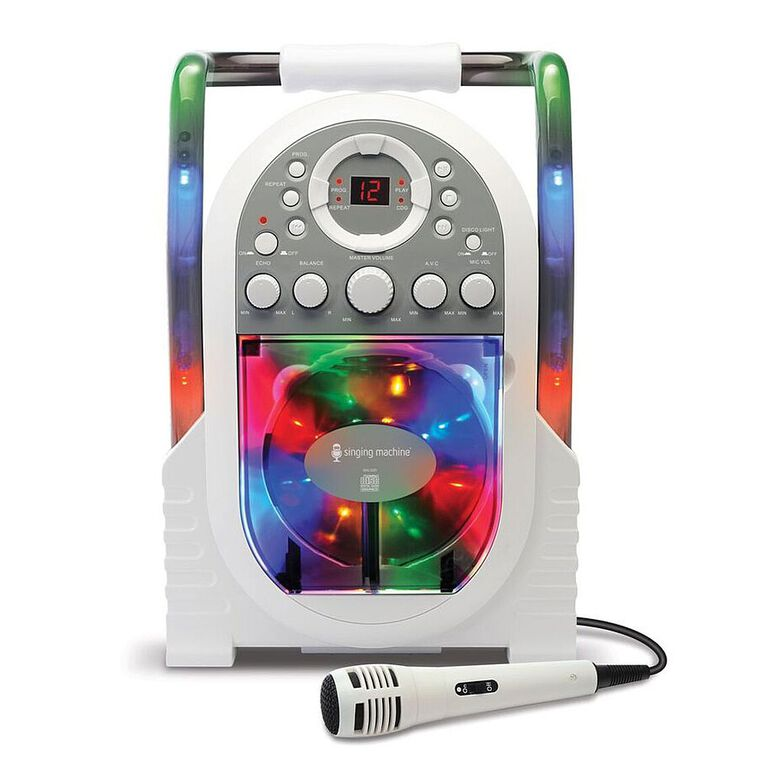 The Singing Machine - Portable Light Show Karaoke