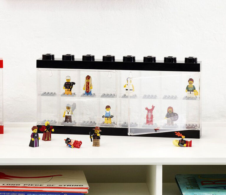 Lego 16 Figure Display Case - Black