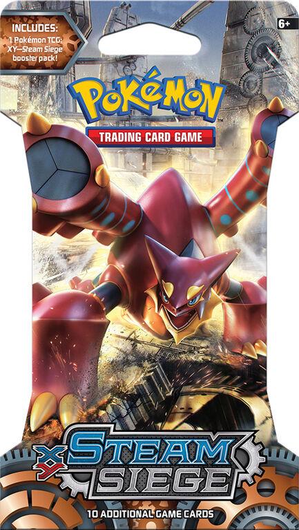 "Pokemon TCG: XY11 ""Steam Siege"" Blister."