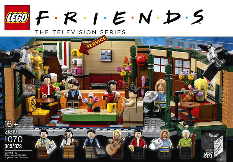 Lego Ideas Friends - Central Perk 21319