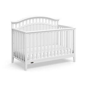 Graco Harper 4-in-1 Convertible Crib - White||Graco Harper 4-in-1 Convertible Crib - White
