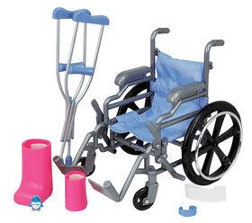 Journey Girls - Coffret avec fauteuil roulant