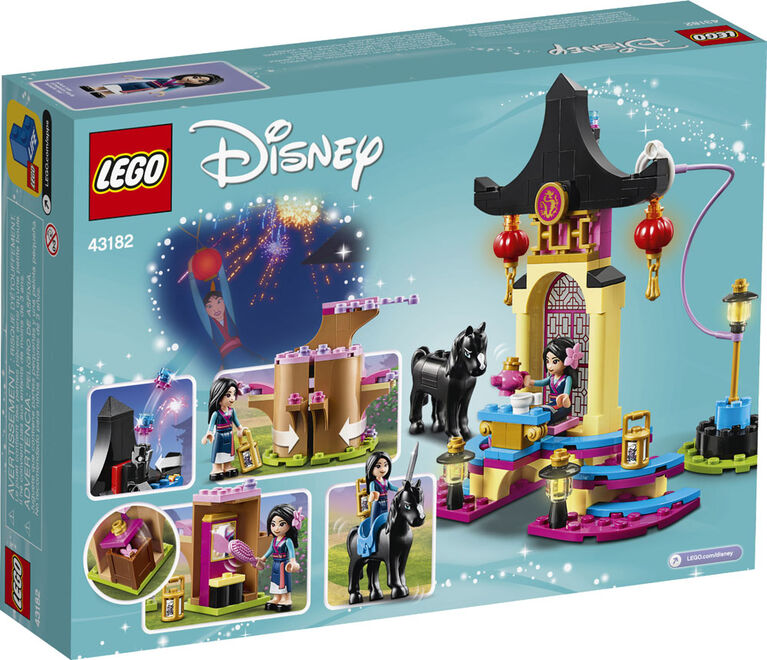 LEGO Disney Princess Mulan's Training Grounds 43182