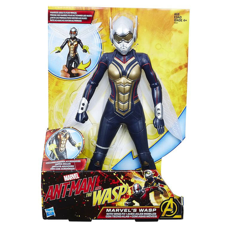 Marvel Ant-Man and the Wasp Marvel's Wasp with Wing FX