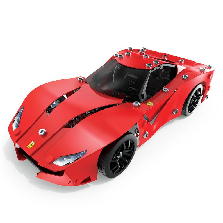 Meccano-Erector – Ferrari F12tdf  Building Set with Poseable Steering