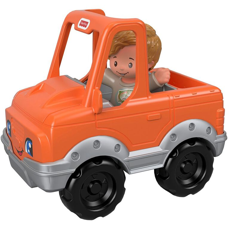 Fisher-Price Little People Help A Friend Pick Up Truck