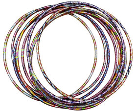 Maui Wave Hoop - includes 1 hoop, colours & styles may vary